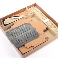 Vintage Favor Box DIY Kit