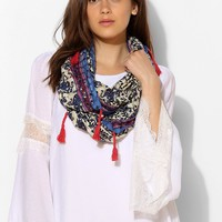 Bombay Tassel Eternity Scarf - Urban Outfitters