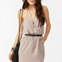 Tied Up Dress - Taupe in  What's New at Nasty Gal