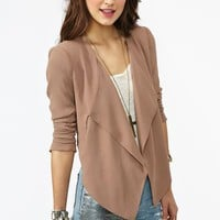 On The Edge Blazer  in  What's New at Nasty Gal