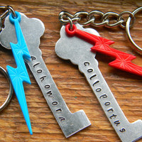 Harry Potter inspired skeleton key ring hand by LindaMunequita