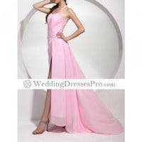 2012 Style A-line Halter Sweep Train ChiffonTD0904 Evening/ Prom Dress TPDWD233 [TPDWD233] - $127.99 : wedding fashion, wedding dress, bridal dresses, wedding shoes