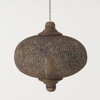 Large Filigree Waltz Lantern - Anthropologie.com