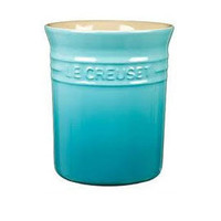 Heal's | Le Creuset Stoneware Teal Small Utensil Jar > Storage Jars & Containers > Kitchen Storage > Kitchen
