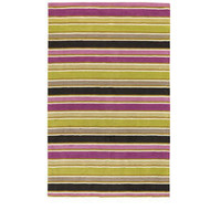 Heal's | Designers Guild Monticello Stripe Rug Peony > Rugs > Rugs > Accessories