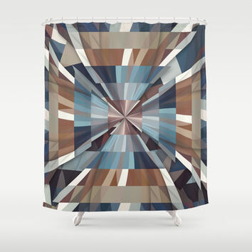 All This Time Shower Curtain by Danny Ivan