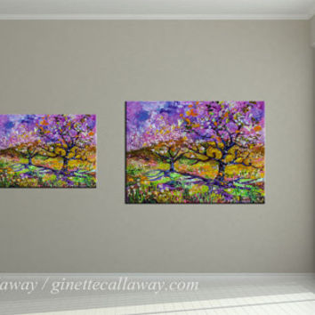 Spring In Provence Prints from original Painting by Ginette