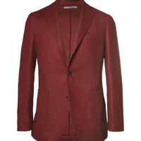 Boglioli - Slim-Fit Unstructured Woven-Wool Blazer | MR PORTER