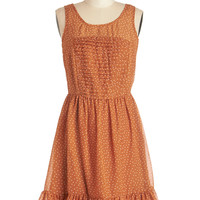 ModCloth Sleeveless A-line You Autumn Know Dress