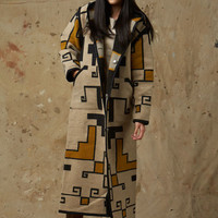 Reversible Long Coat, Toadlena Pendleton® Wool Coat
