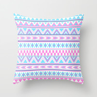Tribal art Creation Throw Pillow pattern, design, cover by tjc555 | Society6