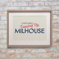 Milhouse Simpsons Poster Print - Everything's Coming up Milhouse