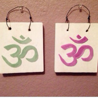 NEW Fun inspirational Signs Wood Art Decor Fashion Wall art Hanging Yoga om sign Namaste Spiritual