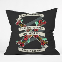 Wesley Bird Marrow And Bone Outdoor Throw Pillow