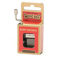 Happy Birthday Crank Music Box at the Bibelot Shops