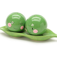 Peas in a Pod Salt & Pepper Shakers at the Bibelot Shops