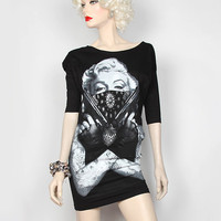 Marilyn Gun Tee Dress