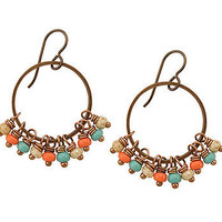Mexican Rivera Hoop Earrings at the Bibelot Shops