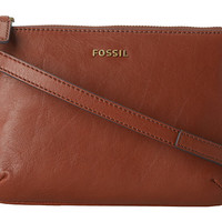 Fossil Memoir Crossbody Pocketbook Brown - Zappos.com Free Shipping BOTH Ways