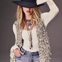 Free People Womens Fur Away Vest -