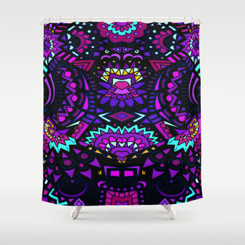 Nightshade Shower Curtain by DuckyB (Brandi)