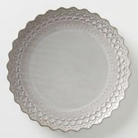 Piecrust Dinner plate  - Anthropologie.com