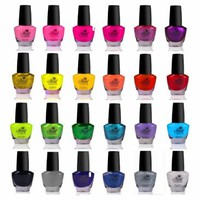 SHANY Cosmetics The Cosmopolitan Nail Polish Set (24 Colors Premium Quality and Quick Dry), 40 Fluid Ounce:Amazon:Beauty