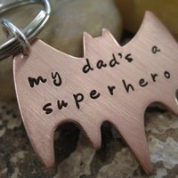 Personalized Hand Stamped Copper Superhero by sTuckintheCoop