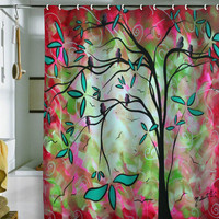 "DENY Designs Shower Curtain Home Accessories | Madart Inc. ""Through The Looking Glass"""
