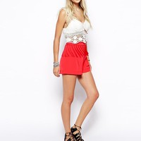 ASOS | ASOS Festival Short With Tassles at ASOS