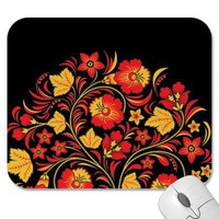 Hohloma Russian Folk Art Mousepad from Zazzle.com