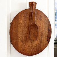 Oversized Wooden Pizza Board - Plow & Hearth