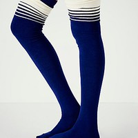 Free People Womens Switch Top Over the Knee Sock -