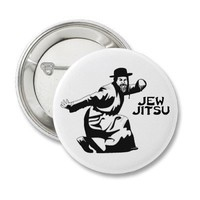 Jew Jitsu Button from Zazzle.com