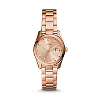 Small Perfect Boyfriend Three-Hand Stainless Steel Watch – Rose