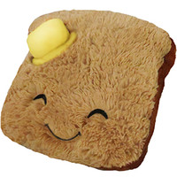Mini Comfort Food Toast: An Adorable Fuzzy Plush to Snurfle and Squeeze!