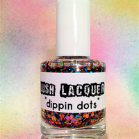 Dippin Dots CustomBlended Glitter Nail Polish / by lushlacquer