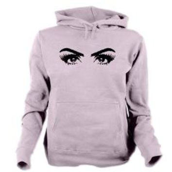 Sketch Eyes Women's Hooded Sweatshirt> Scketch Eyes> Allcolor
