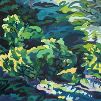 Live Oak Landscape Original Painting