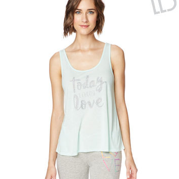 LLD Sheer Love Today Cross-Back Tank