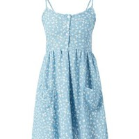 MELA BUTTERFLY PRINT SUNDRESS