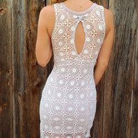Alessa Crochet Dress