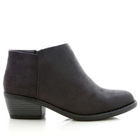 Tumble Ankle Bootie | Trendy Shoes at Pink Ice