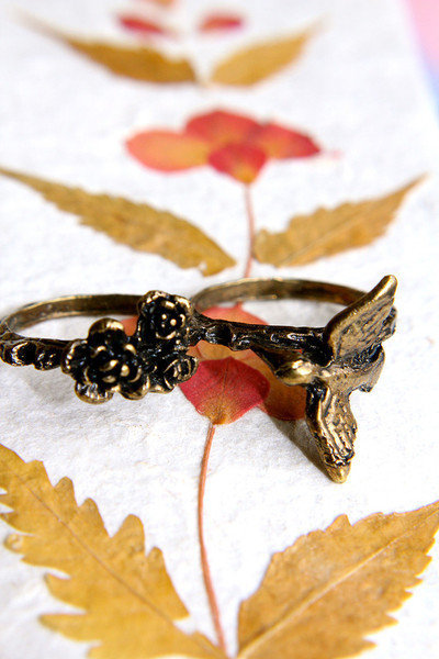 Bring Me Joy, Little Sparrow Ring | Trinkettes