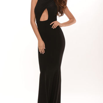 Pageant Queen Maxi Dress - Black | Fashion Nova