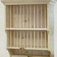Plate racks and custom kitchen furniture - Dublin and Wicklow, Ireland.