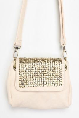 Ecote Heavy Studded Crossbody Bag