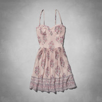 Melanie Chiffon Skater Dress