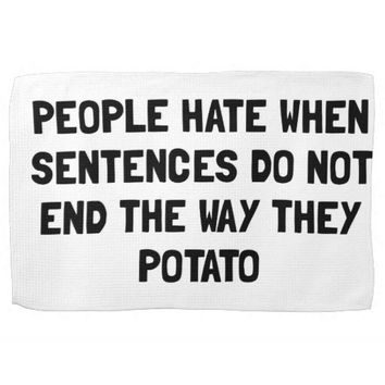 Sentences Potato