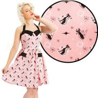 Voodoo Vixen Carmen Dress | Pin Up Retro Style